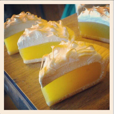 lemon meringue pie charms by ScrumptiousDoodle