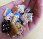 polymer clay pop tart party