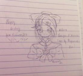 Happy B-day erzaaa204 (OvO) by AkuzukiDaichi
