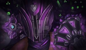 Light in the dark - Destiny 2 Warlock fanart