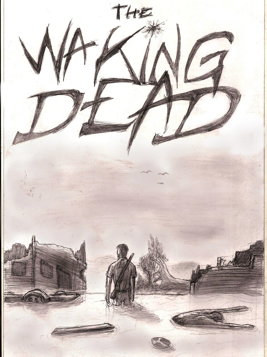 The Waking Dead cover by Henrikossauros