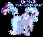 Trixie+Starlight Glimmer Fusion Adoptable -CLOSED- by lnz14