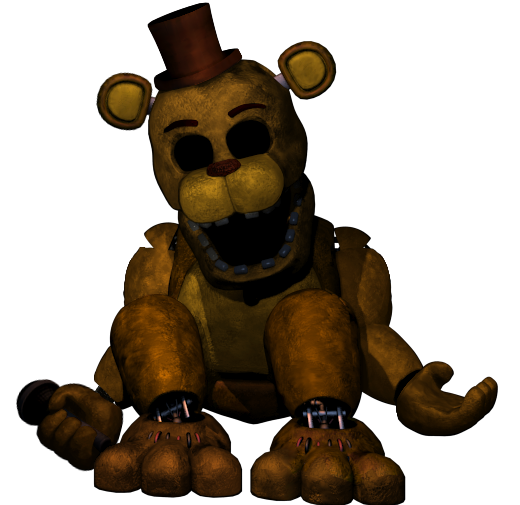 Golden Freddy Is The Fred Bear If Anyone Think That That