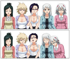 Commission - Boku No Hero Academia Moms