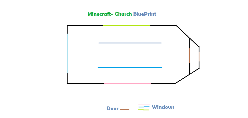 Minecraft church blueprint by shonnababy18 on deviantart minecraft church blueprint by shonnababy18 malvernweather Images