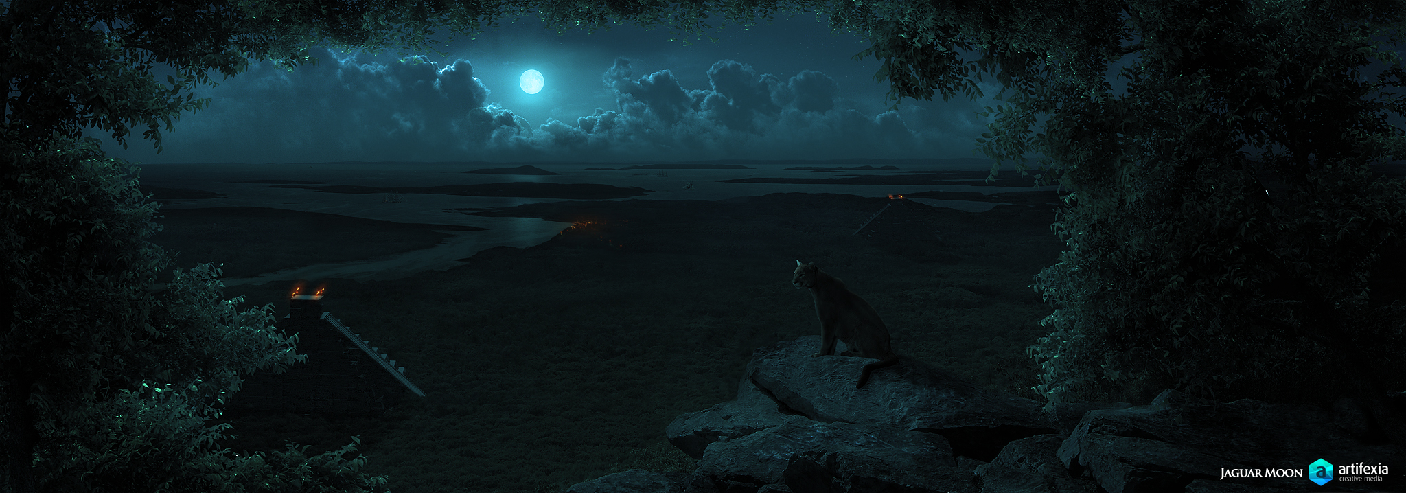 Jaguar Moon by Brukhar