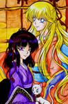 Hotaru, Minako and Artemis