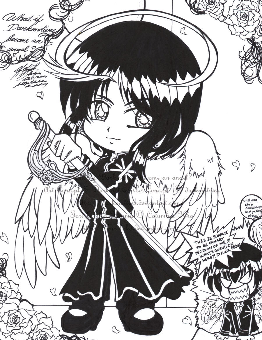 What If Darkmotives Become An Angel