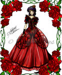 Colored: Queen of Hearts Outfit for Darkmotives