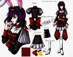 Gothic White Rabbit Outfit