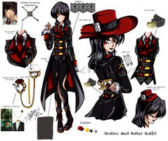 Gothic Mad Hatter Outfit