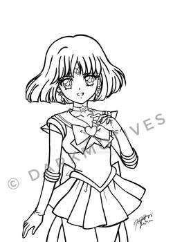 FANART- Super Sailor Saturn