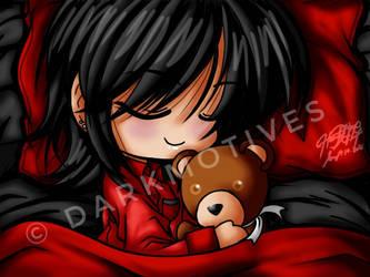 Sleeps With My Teddy Bear