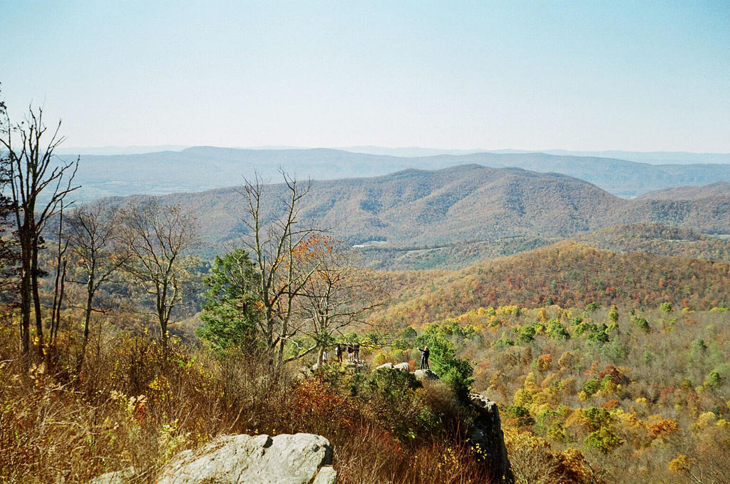 View from Skyline Drive by rdungan1918
