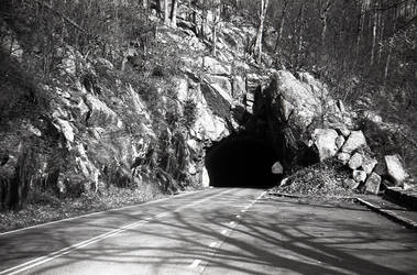 Marys Rock Tunnel, Skyline Drive by rdungan1918