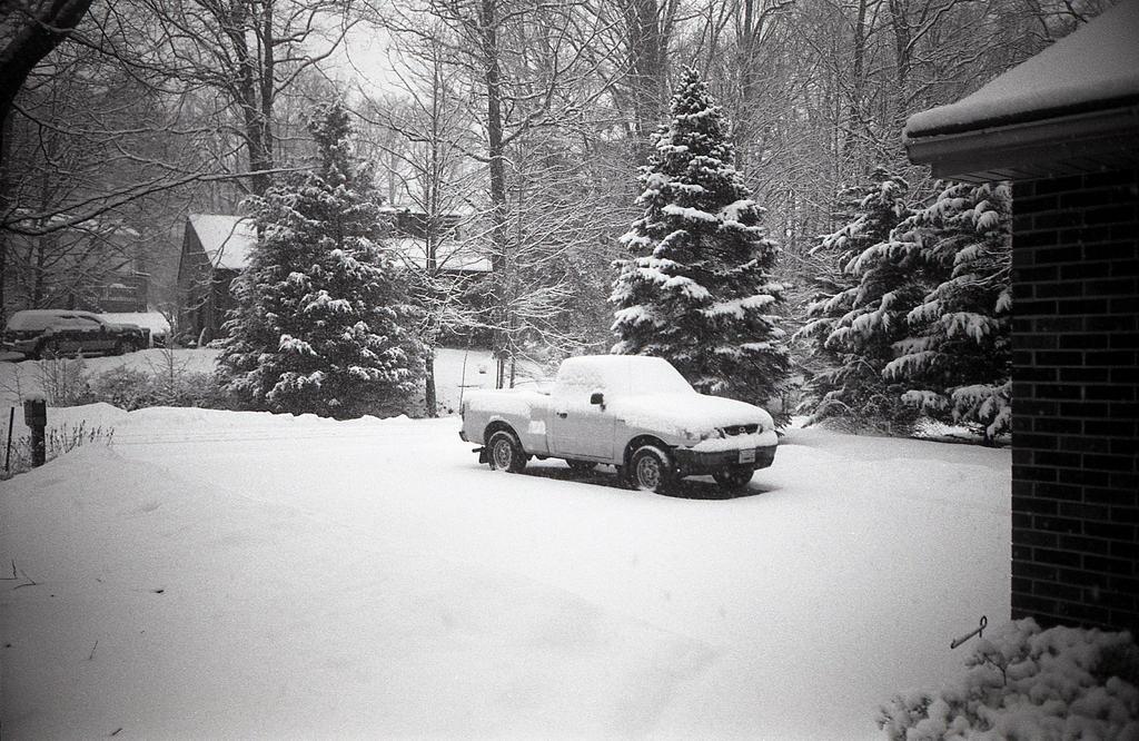 February Snow - Argus C3 by rdungan1918