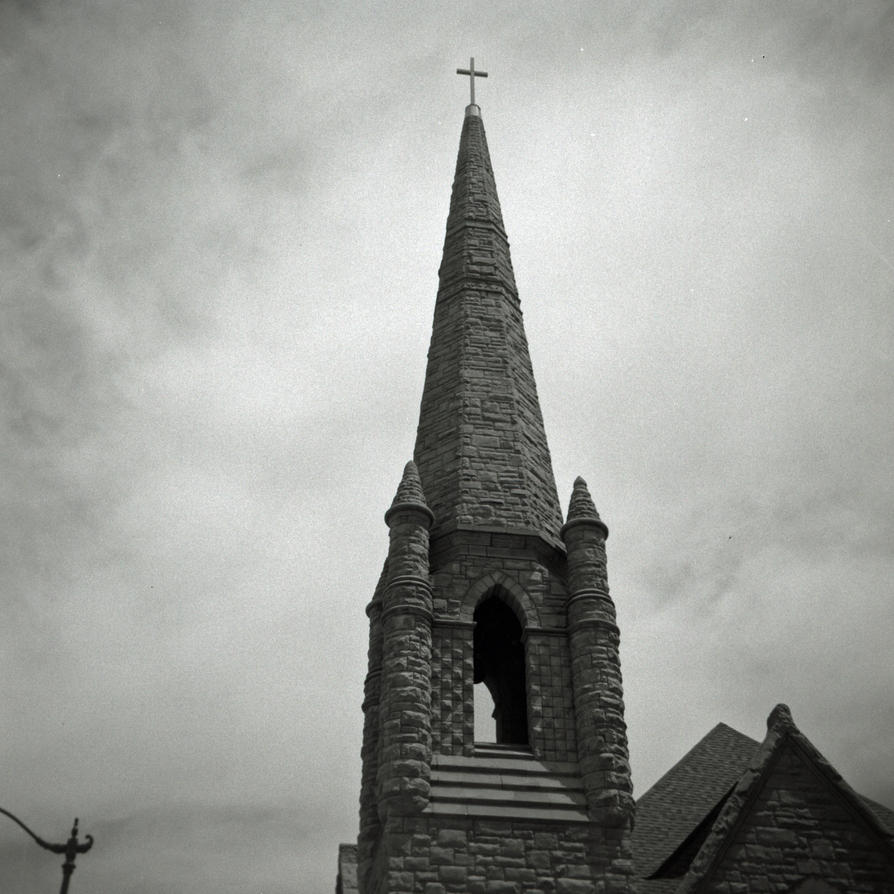 Steeple - Grace Lutheran Church Springfield IL by rdungan1918