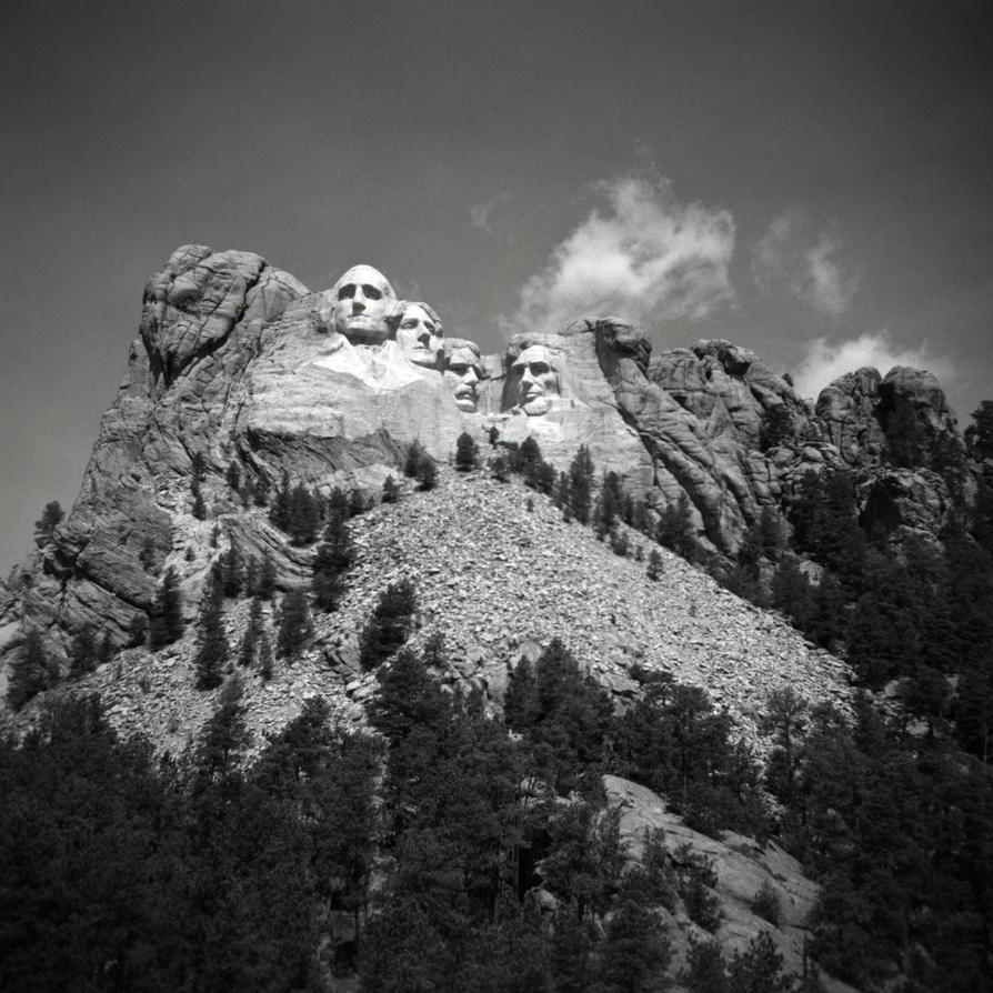 Mount Rushmore by rdungan1918