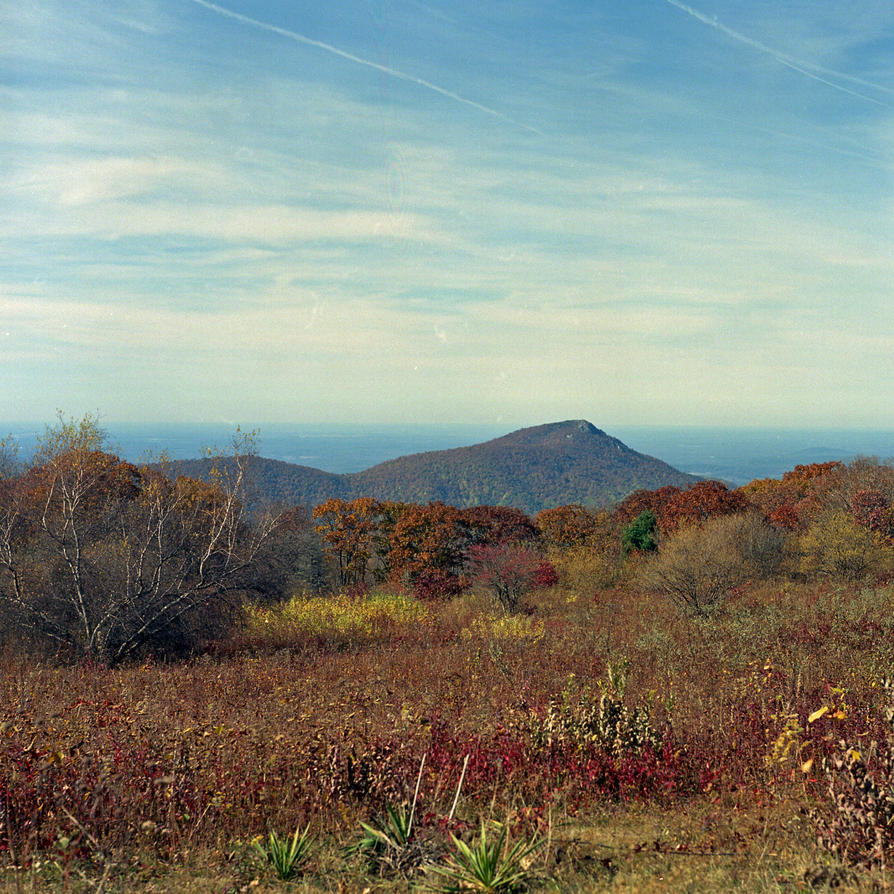 Old Rag from Skyline Drive by rdungan1918