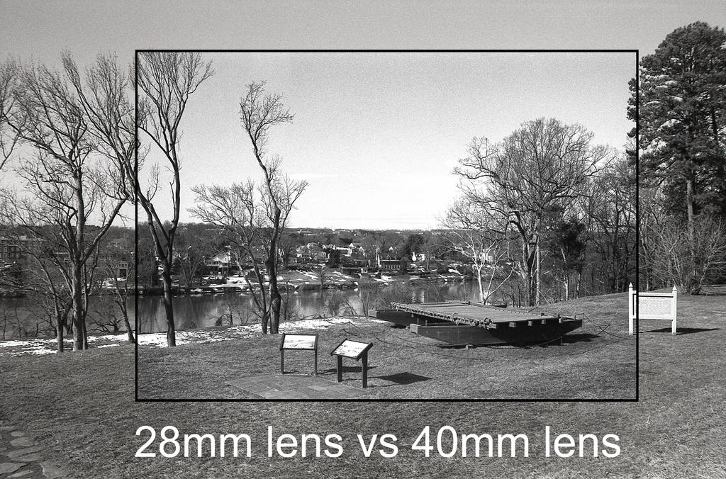 28mm Vs 40mm field of view by rdungan1918