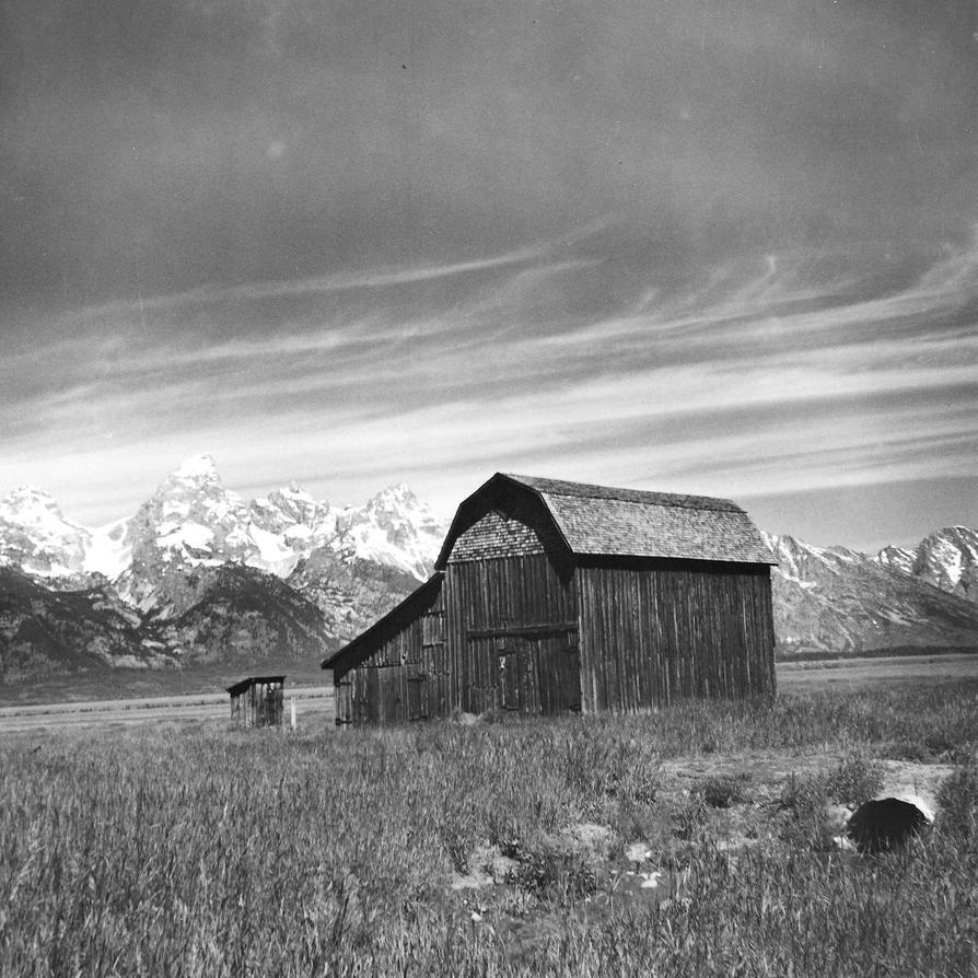 Barn Mormon Row I By Rdungan1918 On DeviantArt