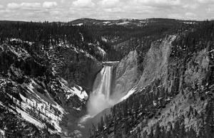 Yellowstone Falls  by rdungan1918