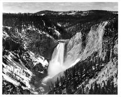 Yellowstone Falls Print by rdungan1918
