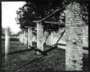 Garden Pillars at Chatham Manor