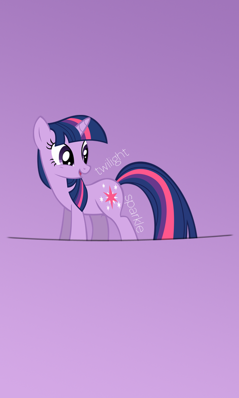 Twilight Sparkle Windows Phone Wallpaper -480x800- by ...