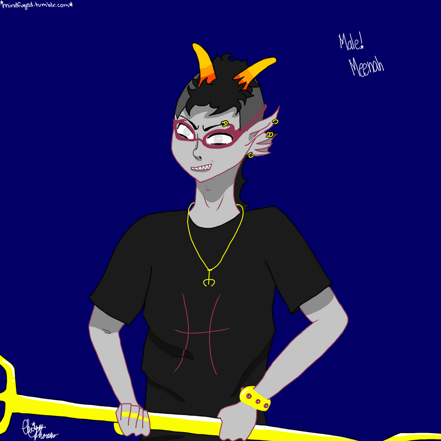 Male Meenah by XxiluvgaaraxX