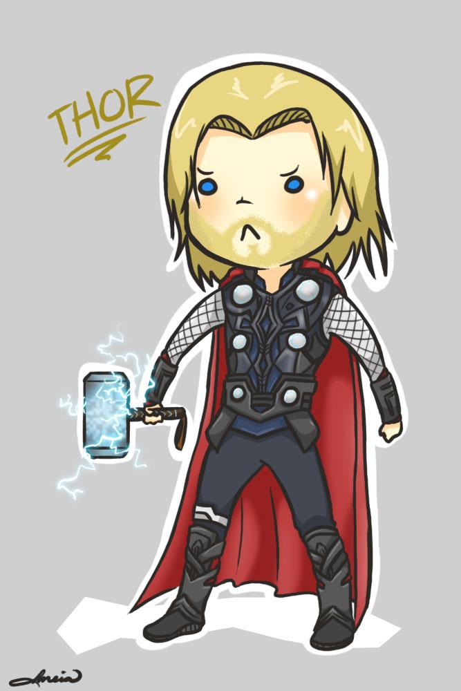 chibi Thor by meia013 on DeviantArt