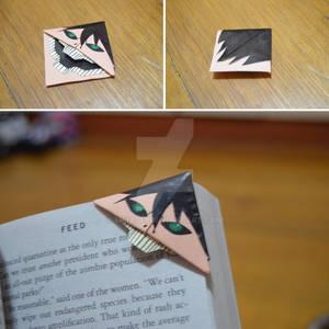 Eren Jaeger bookmark