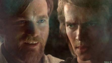 December 2018 Obi-Wan  Anakin 2 by padawanar