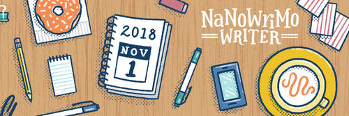 2018 NaNoWriMo Writer by ebkido