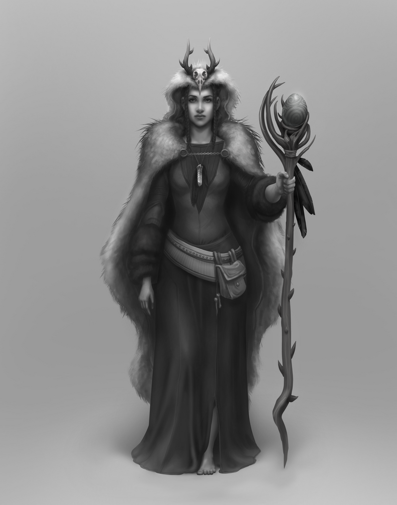 The Healer: Character design by taralynna