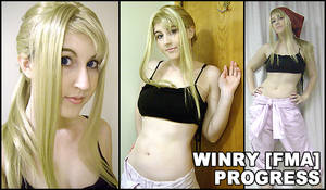 Costume Commission: Winry.