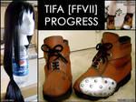 Tifa Wig + Boots.