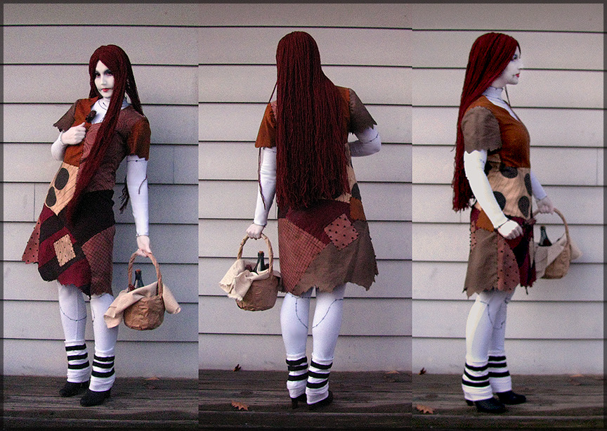 ragdoll by cupcake rufflebutt - Sally Nightmare Before Christmas Wig