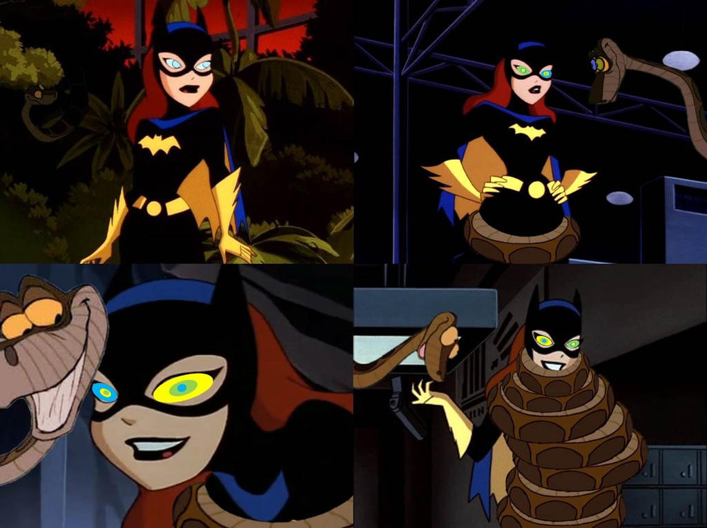 The Kaa And Batgirl Four Part Story By Reforgediron On -3456