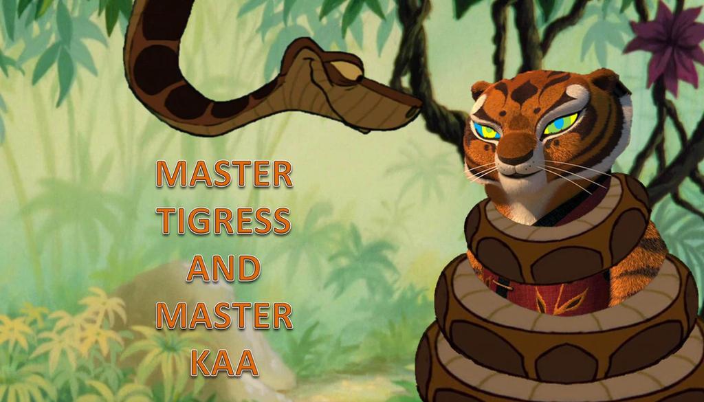 Kung fu panda master tigress