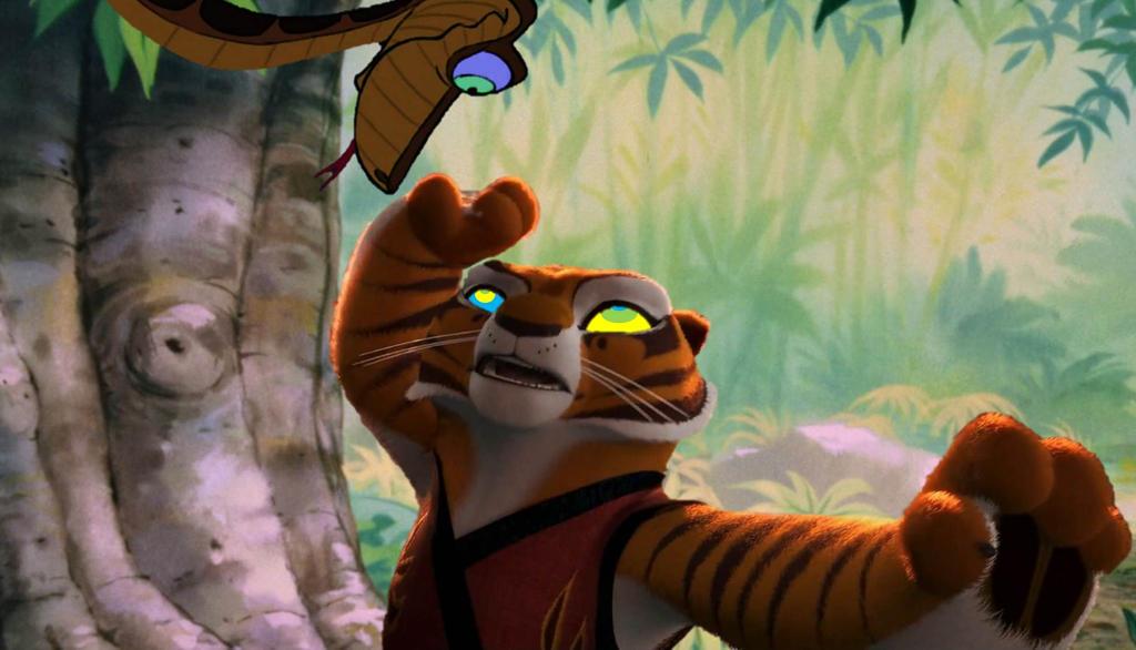 Tigress and Kaa 11-13 by ReforgedIron on DeviantArt
