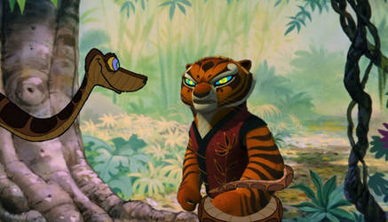 Tigress and Kaa 10-13 by ReforgedIron on DeviantArt