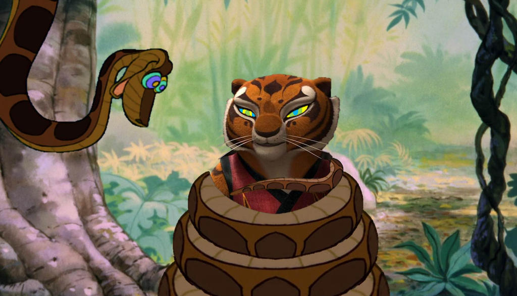 Tigress and Kaa 9-13 by ReforgedIron on DeviantArt