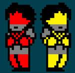 Robot Girls (Sprite Edits)