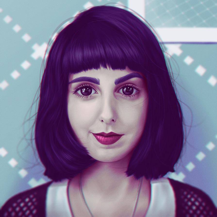Monise - Portrait by davidrabelo