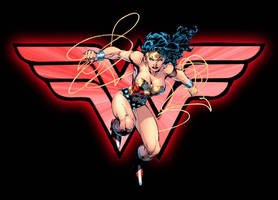 Wonder Woman Clash by teamblazeman