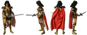 Wonder Woman Donna Troy by teamblazeman