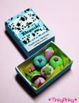 Wagashi box 1:12 miniature by tinkypinky