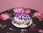 Christmas miniature cheesecake by tinkypinky