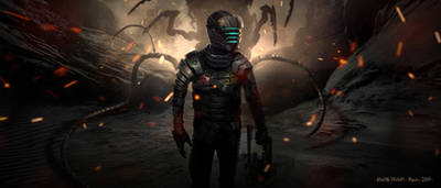 Practice paint. I miss Dead Space edition. by AlwynT